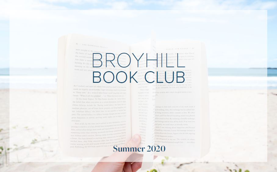 Broyhill Book Club - Summer 2020
